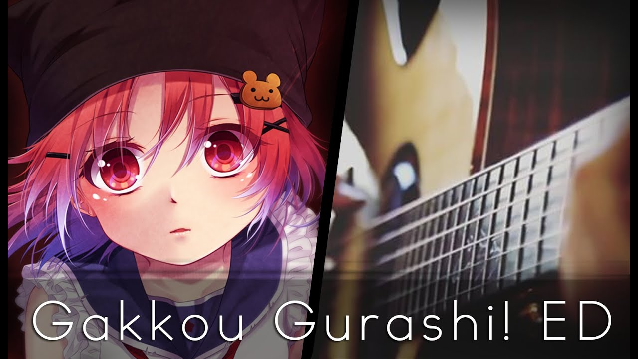 301f54b903d Harmonize Clover - Gakkou Gurashi! ED (Acoustic Guitar)  Tabs ...