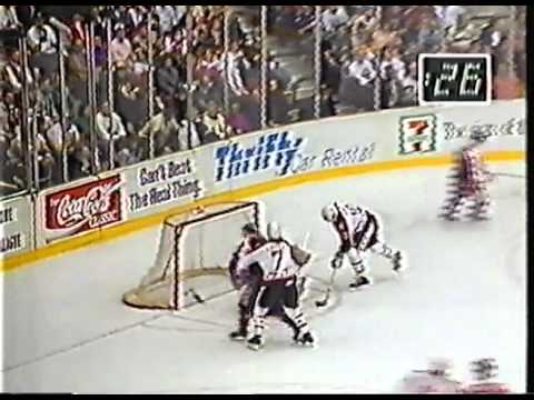 NHL All Star Game - 1990 (Part 7 of 7) - Swedish commentators