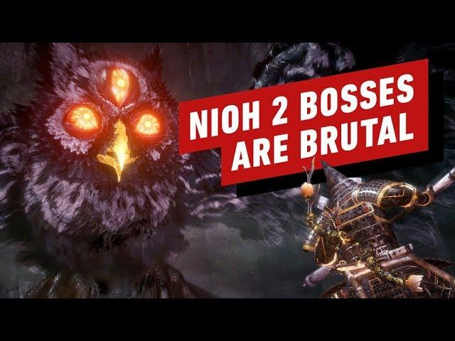 Nioh 2 Pré-visualização final: A batalha de chefes que quase me quebrou + vídeo