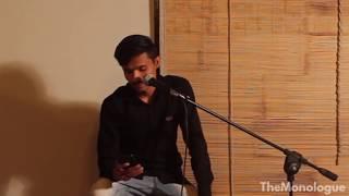 Vivek Devaliya Live at The Monolouge - Rajkot   Poetry Jam