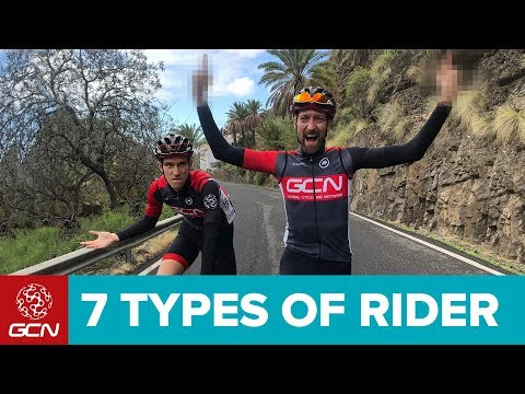 7 Types Of Road Cyclists We All Know
