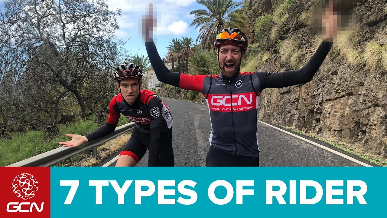 9b0a9ca3b 7 Types Of Road Cyclists We All Know - YouTube