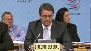 WTO DG Azevêdo's inaugural speech