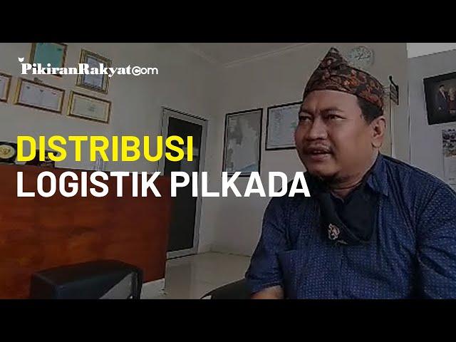 Kebutuhan Logistik Pilkada Kabupaten Tasikmalaya Dikirim secara Bertahap oleh KPU