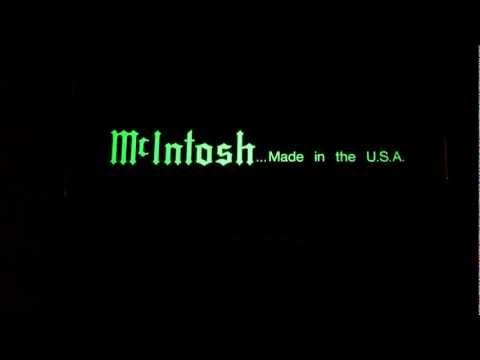 Mcintosh audio in the night - MC122 C42 MC352 MR87
