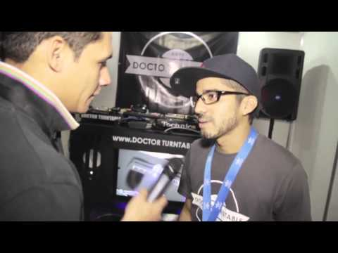 Entrevista Victor X  Planeta Café al Stand Doctor  Turntable
