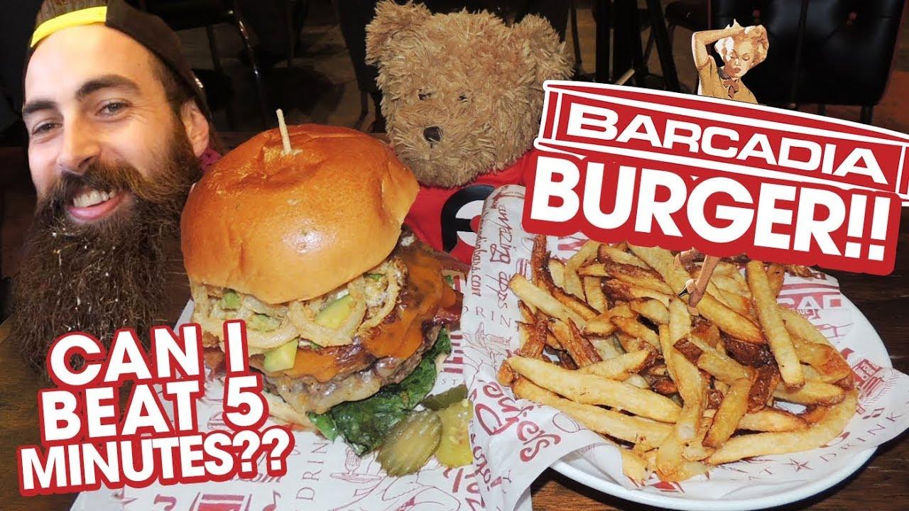 Bonus Double Cheeseburger Challenge vs BeardMeatsFood's Record!!