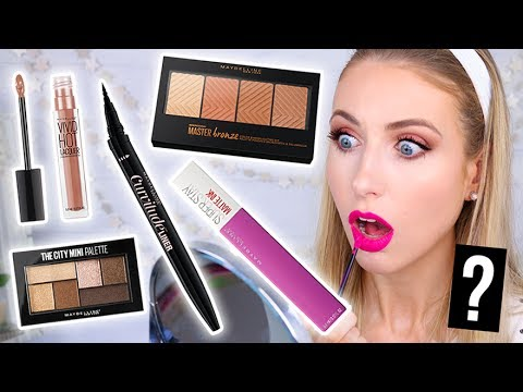 Testing NEW DRUGSTORE Maybelline MAKEUP Launches! || 5 First Impressions
