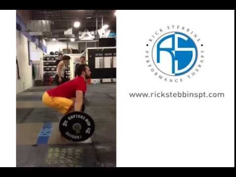 Jono Whitehead of CFNE Olympic weightlifting mistake - bumping the bar