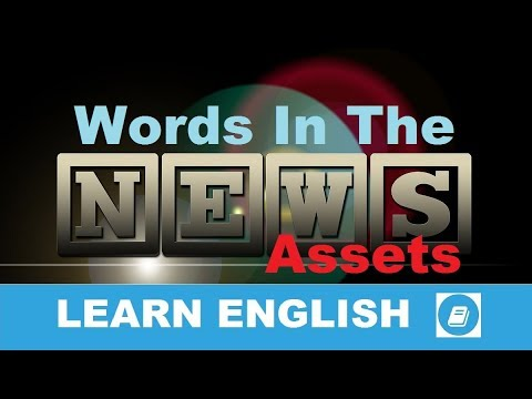 Assets - English Vocabulary News Word