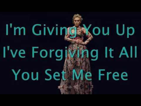 Send My Love ( To Your New Lover ) - Adele - ( Lyrics )