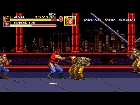 Streets of Rage 2 (Extreme Alliance hack) - Ash playthrough
