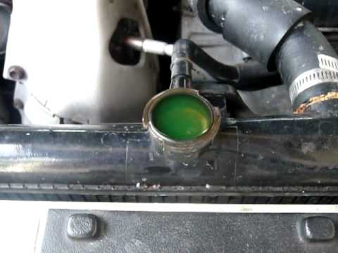 radiator - blown head gasket? - YouTube