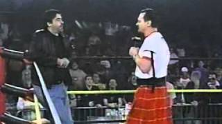 Roddy Piper et Vince Russo, entre shoot et worked shoot