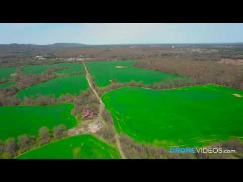 Aerial Drone Video of Farmland Shot in 4K by DroneVideos.com