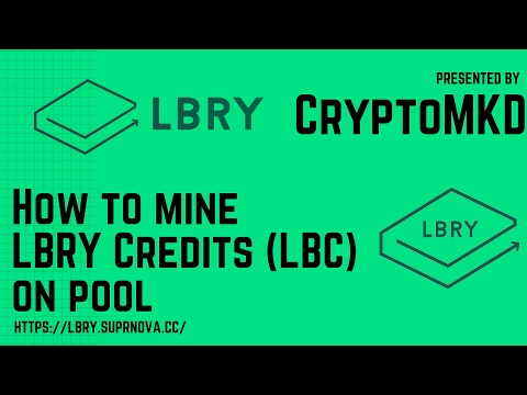 How To Mine LBRY Credits LBC On Pool