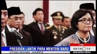 [Live Full] Pelantikan Menteri Baru Reshuffle Kabinet Jokowi Jilid II 27 Juli 2016