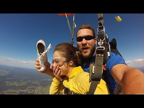 Friday Freakout: Tandem Instructor Hit In Face... With A Shoe!