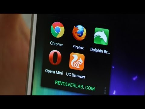 Android обзор - выбираем лучший браузер на Android / Best Android Browsers 2013