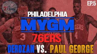 NBA 2K15 My GM Mode Ep.5 - Philadelphia 76ers | DeMar DeRozan BATTLES PG13 | THRILLER | PS4