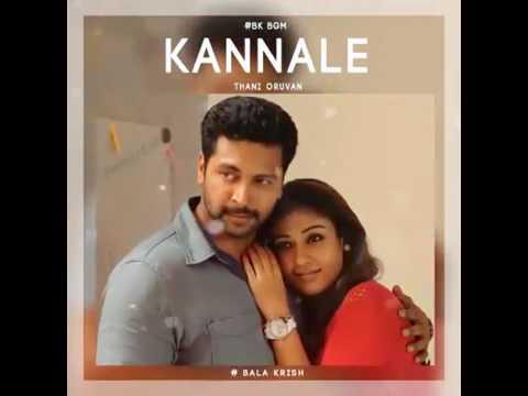 Kannala Kannala bgm|Thani Oruvan