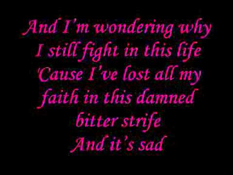 Within Temptation - Shot in the Dark (lyrics)