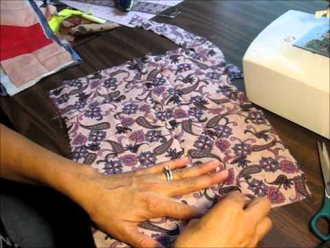 Tutorial como enguatar y ensamblar un quilt con el metodo - Como hacer colchas de patchwork ...