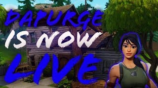 Leader of Da Purge is live on fortnite giveaway at 2000 subs come tune in