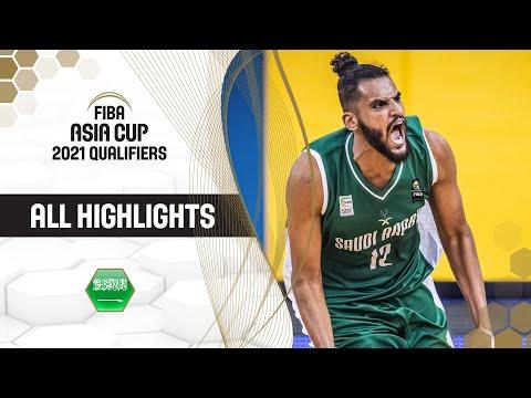 Best of Saudi Arabia from the FIBA Asia Cup 2021 Qualifiers - November Window