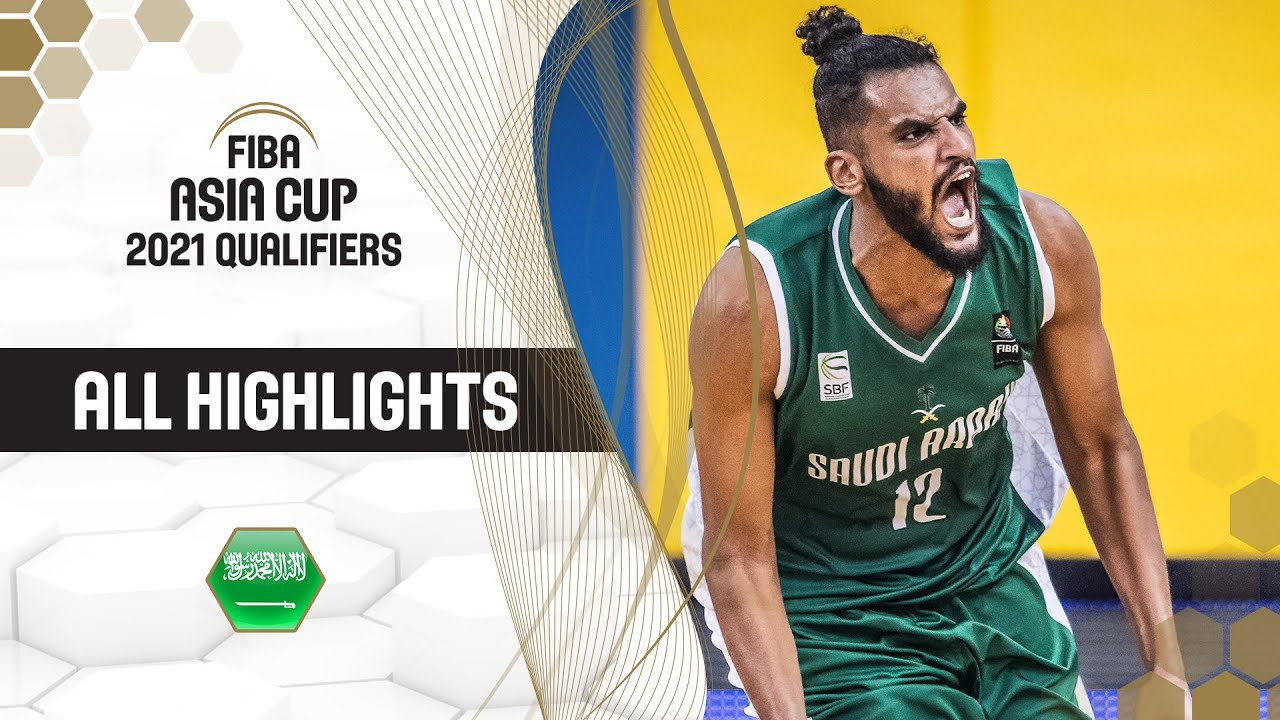 Best of Saudi Arabia from the FIBA Asia Cup 2021 Qualifiers