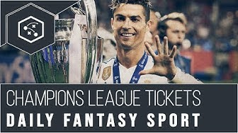 Daily Fantasy Sport: 2 x Champions League Finale VIP Tickets gewinnen (2019)
