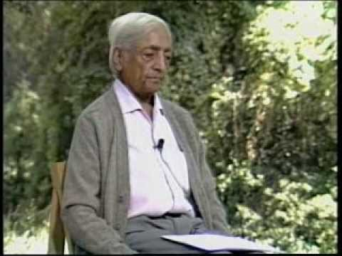 J. Krishnamurti - Beyond Myth & Tradition 5 - Choiceless awareness