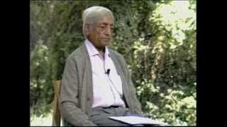 J. Krishnamurti - Beyond Myth & Tradition 5 - Choiceless awareness