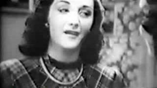 """Emilinha Borba e Lourdinha Bittencourt (1949) - """"Quando Eu Penso na Bahia"""""""