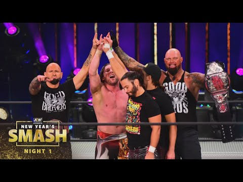 The SHOCKING Ending to New Year's Smash Night 1 | AEW New Year's Smash Night 1, 1/6/21