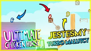 JESTEŚMY TURBO MALI | Ultimate Chicken Horse [#97] | BLADII