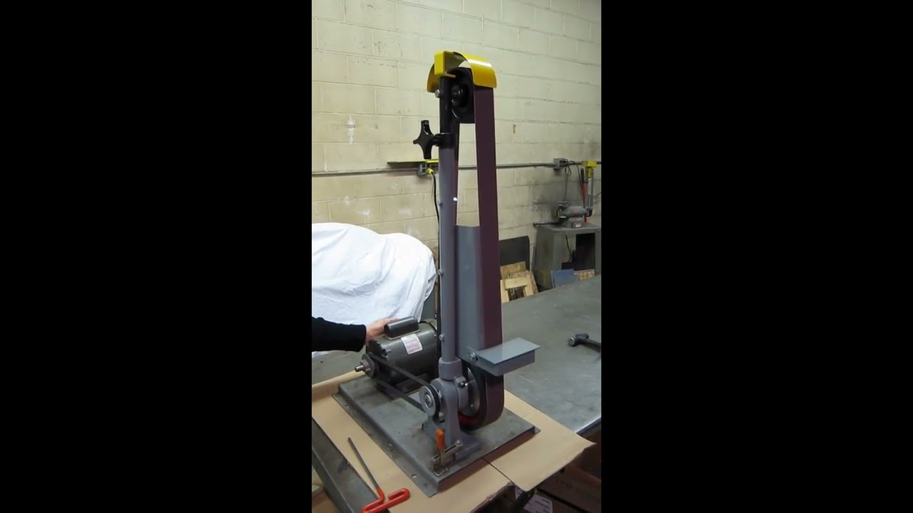 kalamazoo belt grinder. kalamazoo industries 2fs72 2\ belt grinder
