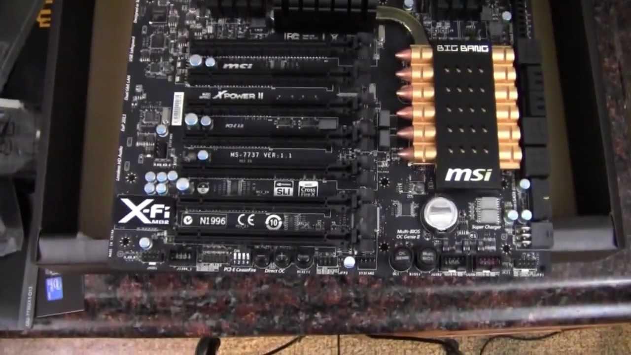 MSI Big Bang-XPower II Windows 7