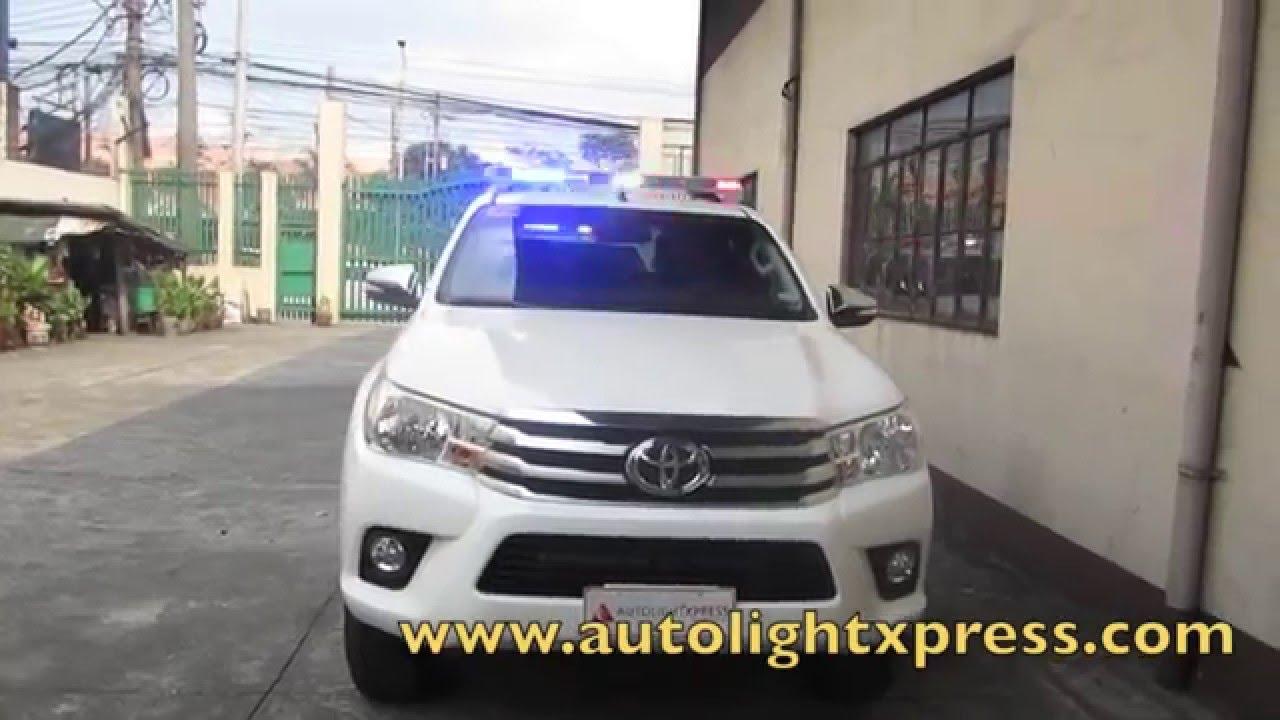 Toyota Hilux 2015 Police Patrol Vehicle Youtube