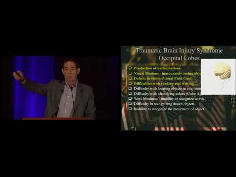 Dr. Mark L. Gordon presents his 3 year TBI study