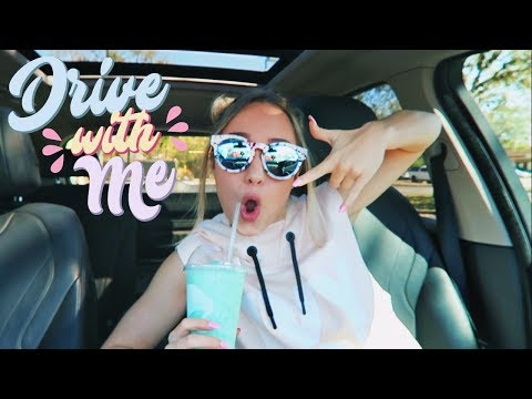 DRIVE WITH ME + My Current Music Playlist 2018!