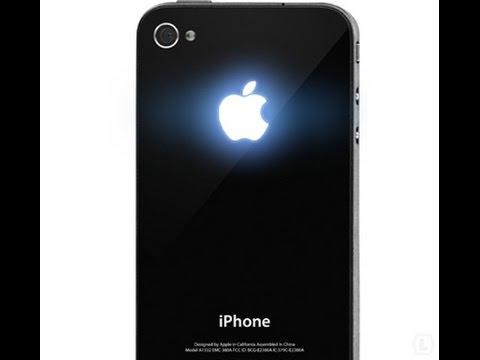 Посылка из Китая Светящееся яблоко для IPhone 4/4s / EBay / Aliexpress / Parcel From China