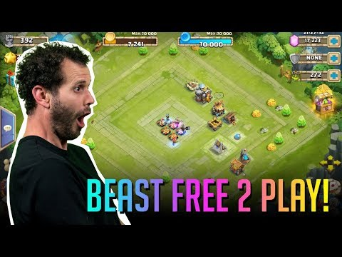Best Free 2 Play Account In 30 Days WINNER Castle Clash