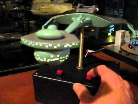 AMT 1650 Klingon D7 Battle Cruiser scale model by