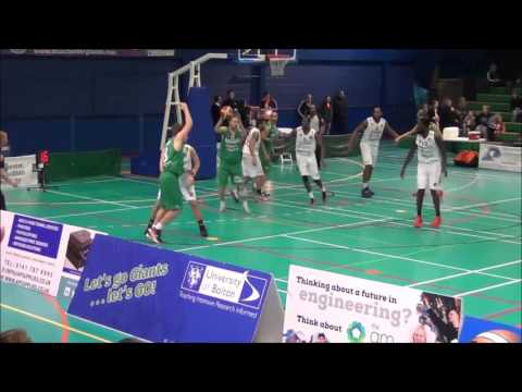 Manchester Giants 74 Worcester Wolves 79