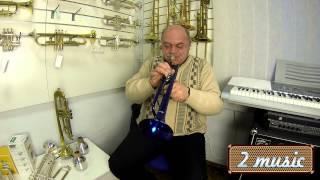 Blue china trumpet mendiny