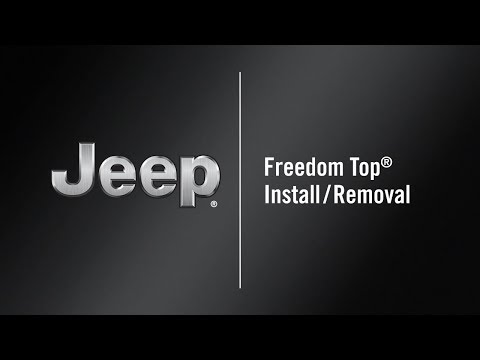 Freedom Top® Install/Removal | How To | 2020 Jeep Wrangler