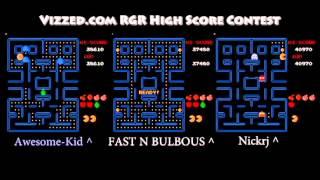 Vizzed.com High Score Run Contest = Pac-Man Namco (Nintendo NES)