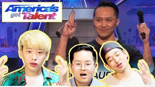 REAKSI LIHAT DEMIAN ADITYA: Escape Artist Risks His Life During AGT Audition - America's Got Talent!