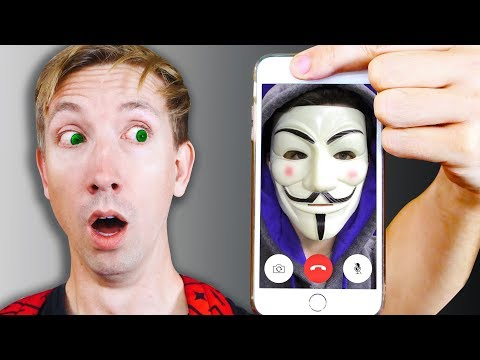 CALLING The HACKERS iPHONE and Exploring Abandoned Mystery Evidence YouTube Hacker FaceTime
